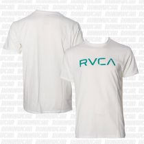 RVCA Big RVCA SS T-shirt Blanco