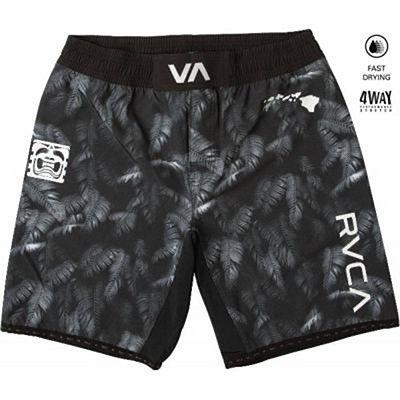 RVCA BJ Penn Scrapper MMA Shorts Black