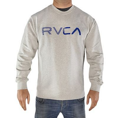 RVCA Blinded Crew Fleece Grau