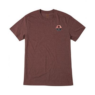 RVCA Bruce Tee Red