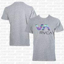 RVCA Chopped Va T-shirt Gris