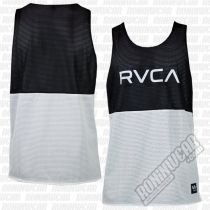 RVCA Dealer II Reversible Tank Negro-Blanco