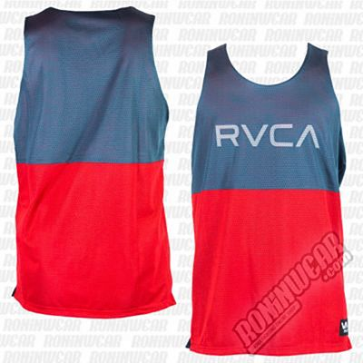 RVCA Dealer Tank Reversible Red-Blue
