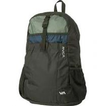 RVCA Densen Packable Bp Negro-Azul Marino