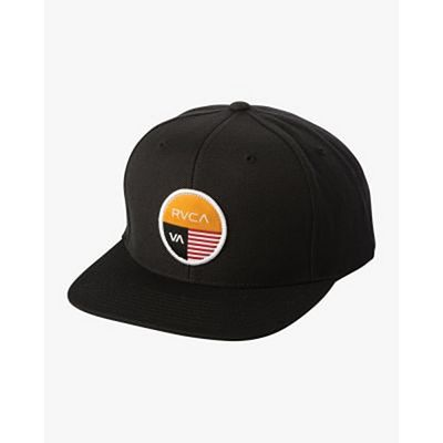 RVCA Diagram Snapback Hat Black