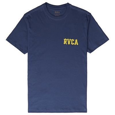 RVCA Floral Snake T-shirt Blue-Yellow