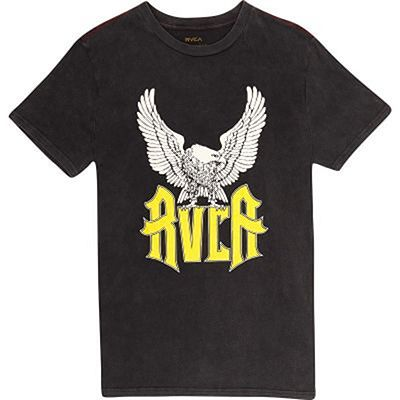 RVCA Front Wings T-shirt Schwarz