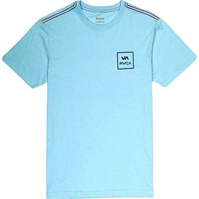 RVCA Grid All The Way T-shirts Blau