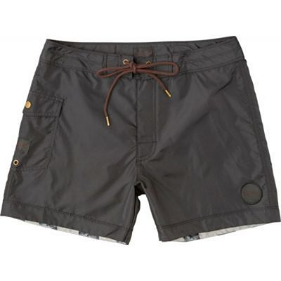 RVCA Knost Trunk 15 Inches Boardshorts Black