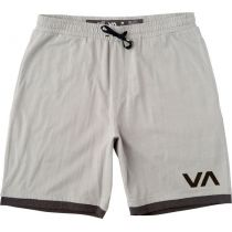 "RVCA Layers II 19"" Short Gris-Negro"