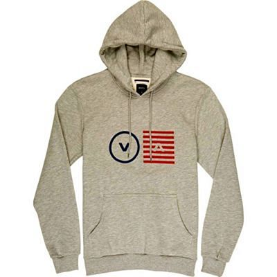 RVCA Opposite Objects Hoody Grau