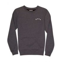 RVCA Panther Crew Grey-White