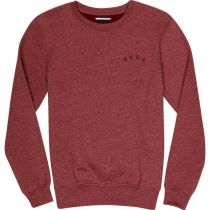 RVCA Panther Crew Tawny Red
