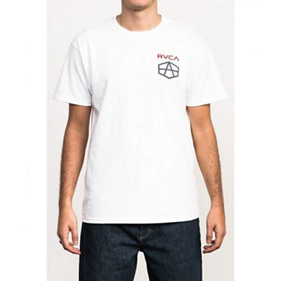 RVCA Reynolds Hex Tee White