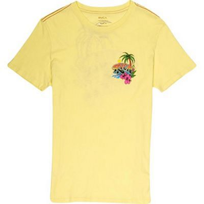 RVCA Royal Palm T-shirts Gelb