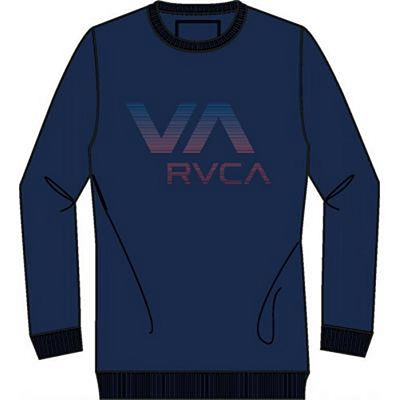 RVCA RVCA Crew Seattle Navy Blue