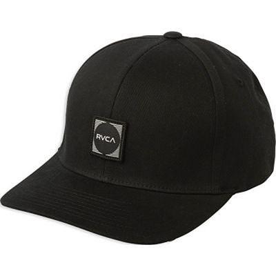 RVCA Scores Flexfit Hat Negro