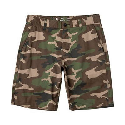 RVCA Week End Hybrid II 20 Inches Walkshorts Camo
