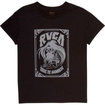 RVCA Trail To Nowhere WideT-shirts Negro