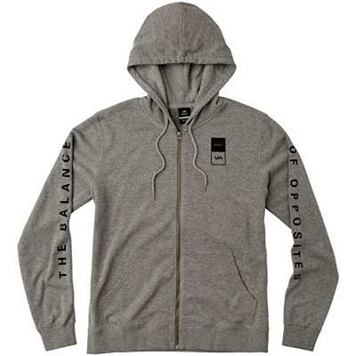 RVCA VA Guard Fleece Hoodie Grey