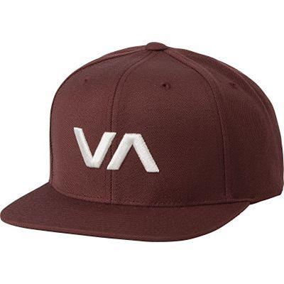 RVCA VA Snapback II Hat Wine
