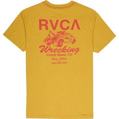 RVCA Wrecking Yellow