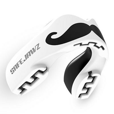 SafeJawz Extro Series Self-Fit Mo Mouthguard White