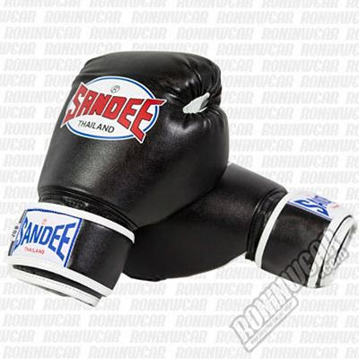 Sandee Authentic Tone PU Kids Boxing Gloves Nero-Bianco