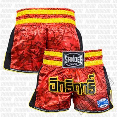 Sandee Supernatural Power Shorts Rosso-Oro