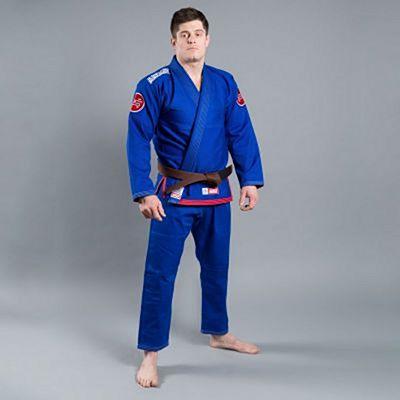 Scramble Athlete 3 BJJ Kimono Azul