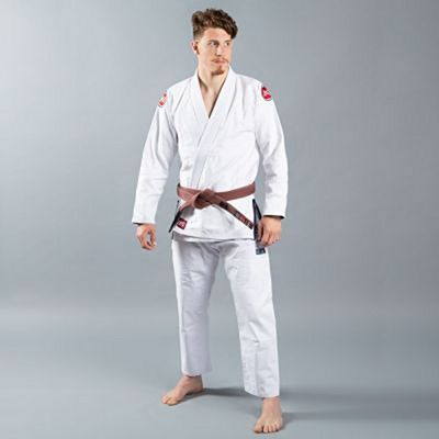 Scramble Athlete Kimono V4 375 Branco