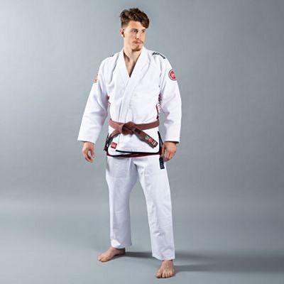 Scramble Athlete Kimono V4 550+ Branco
