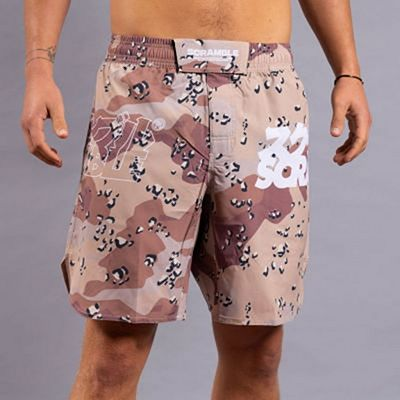 Scramble Base Shorts Choc Chip Camo