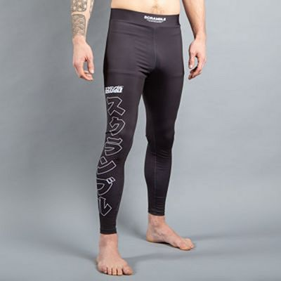 Scramble Base Spats Preto