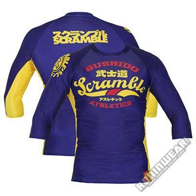 Scramble Bushido Athletics L/S Azul-Amarillo
