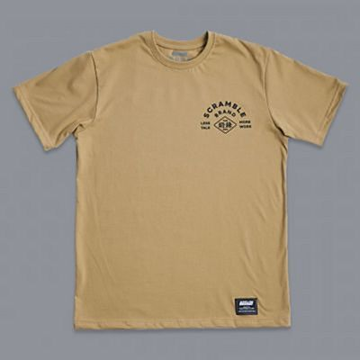 Scramble Less Talk Tee Giallo
