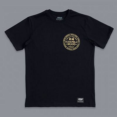 Scramble More Work Tee Preto
