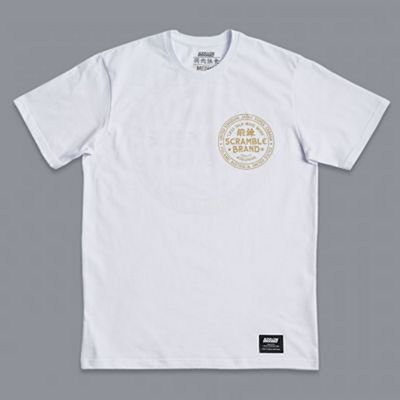 Scramble More Work Tee Branco