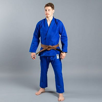 Scramble Standard Issue V2 Semi Custom BJJ Kimono Blue