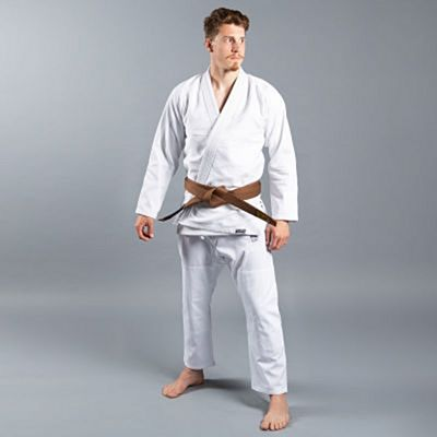 Scramble Standard Issue V2 Semi Custom BJJ Kimono Branco