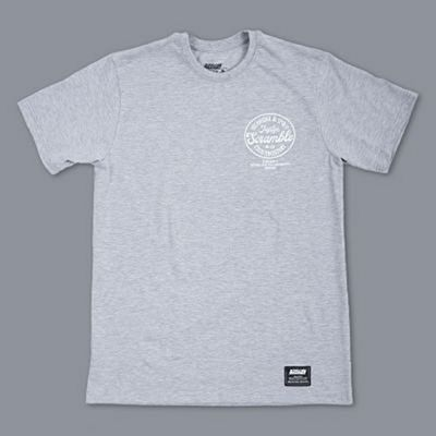 Scramble Technique & Spirit Tee Cinza