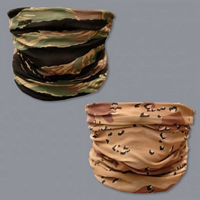 Scramble Vagabond Mask Scarf Double Pack Camo