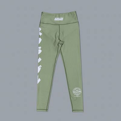 Scramble Verano Sports Leggings Verde
