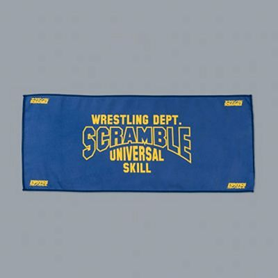 Scramble Wrestling Workout Towel Azul-Amarelo