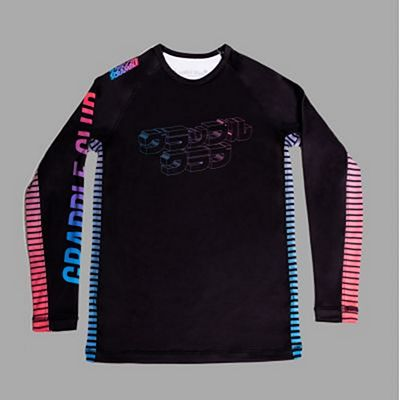 Scramble X Grapple Club Rashguard Preto