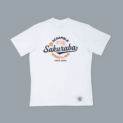 Scramble X KS Wrestling Tee Branco