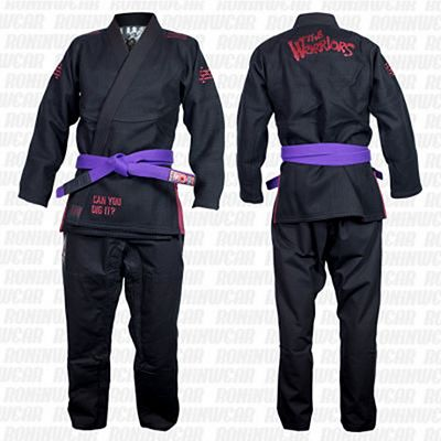 Scramble X The Warriors BJJ Kimono Preto
