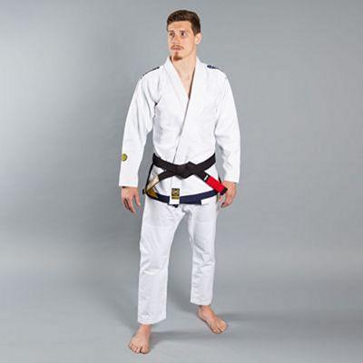 Scramble Yusho Jiu Jitsu Kimono Branco