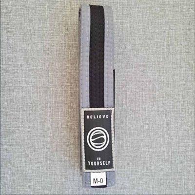 Soiltechnique Cinturon BJJ Kids Gris-Noir