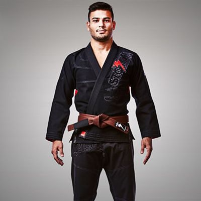 Storm Stealth Typhoon Featherlight Bjj Gi Black